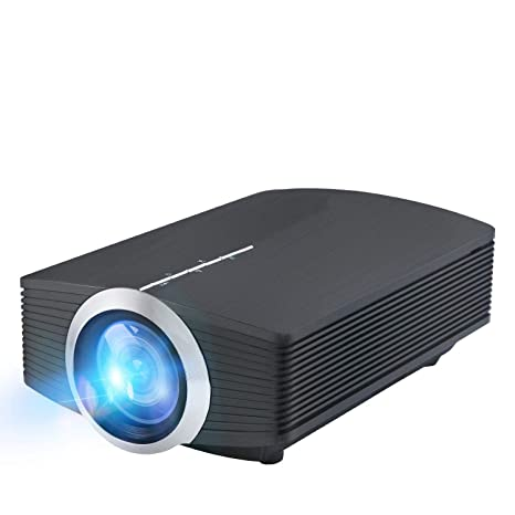 Proyector, DP500 Mini 1200 Lumen Soporte Video LED portátil MHL ...
