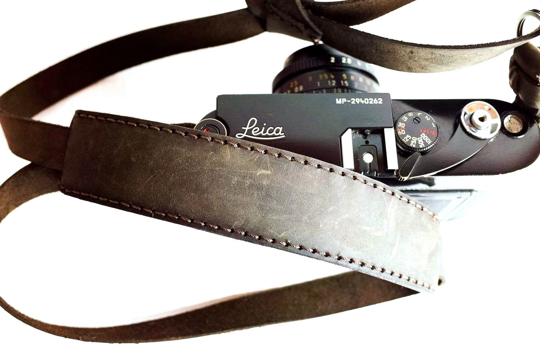 Henri by Eric Kim Handmade Premium Leather Camera Neck Strap