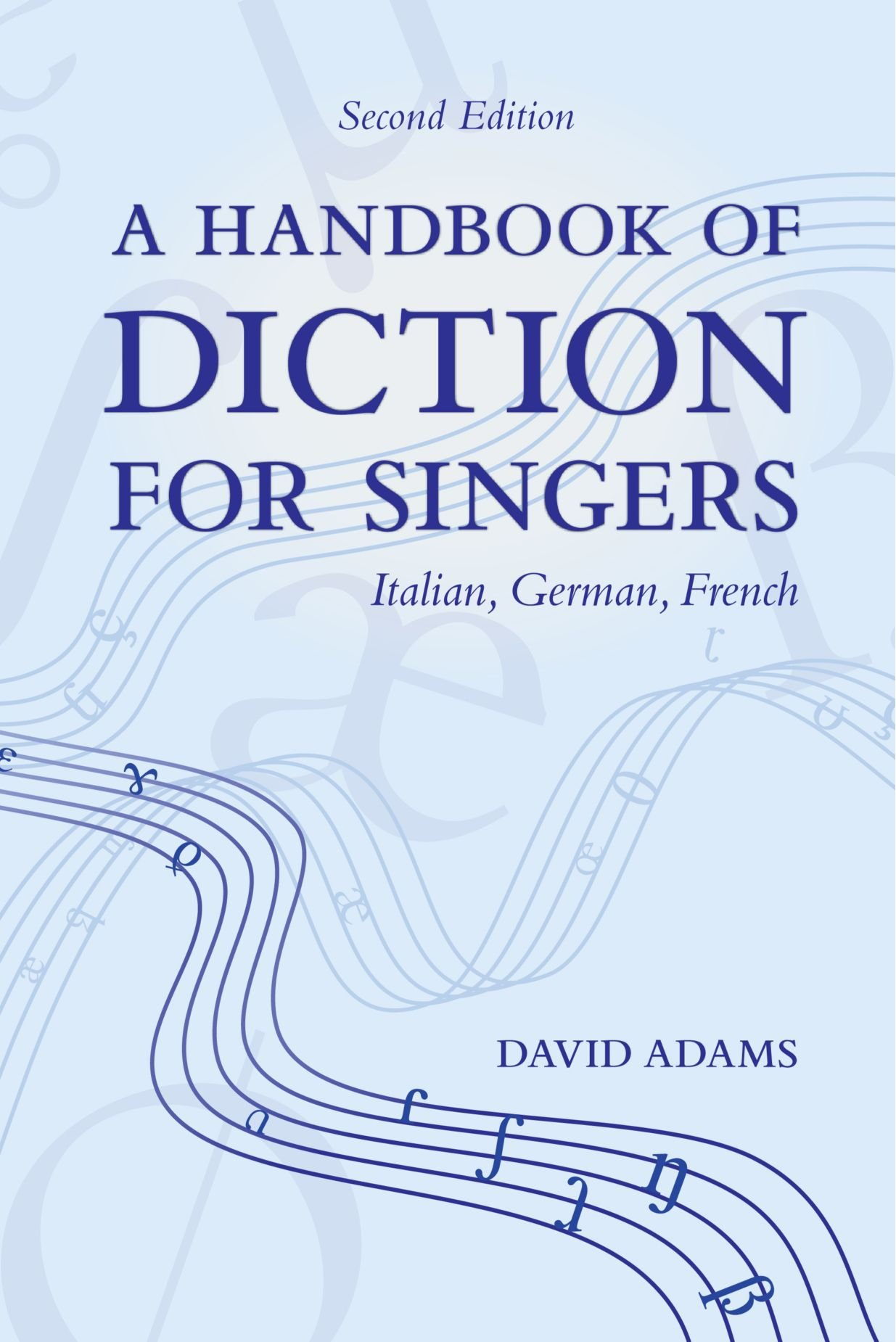 Handbook Diction Singers Italian German