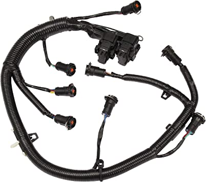 amazon.com: ficm engine fuel injector complete wiring harness | for ford  6.0l powerstroke diesel | 2003-2007 f250 f350 f450 f550, 2004-2005  excursion | replace# 5c3z-9d930-a, 5c3z9d930a: automotive  amazon.com