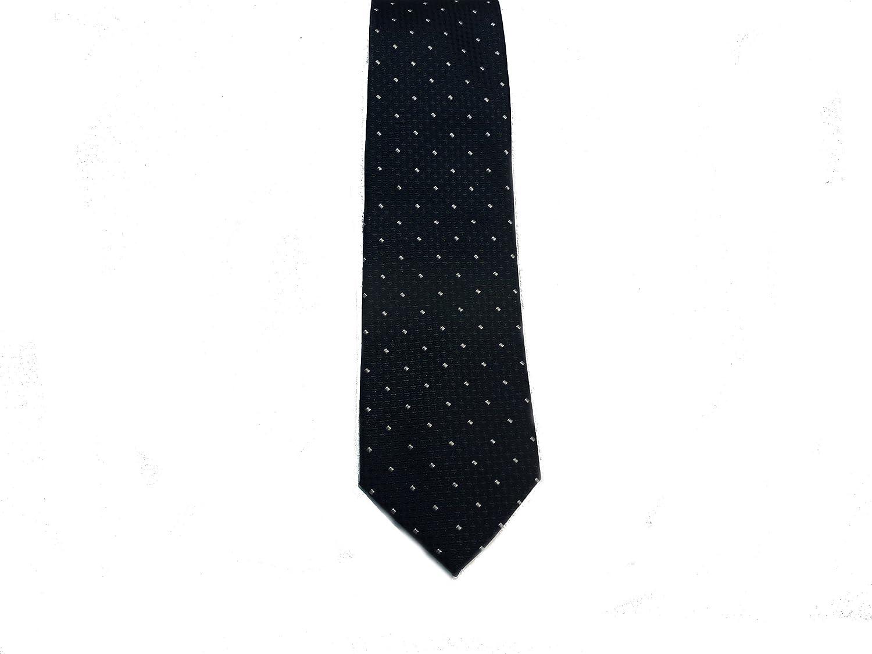 Silk Handmade Sergio Barone Italian Mens Necktie,Pin Dot Pattern Dark Green