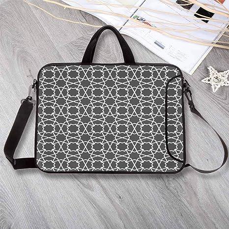 Amazon com: Arabian Portable Neoprene Laptop Bag,Geometric