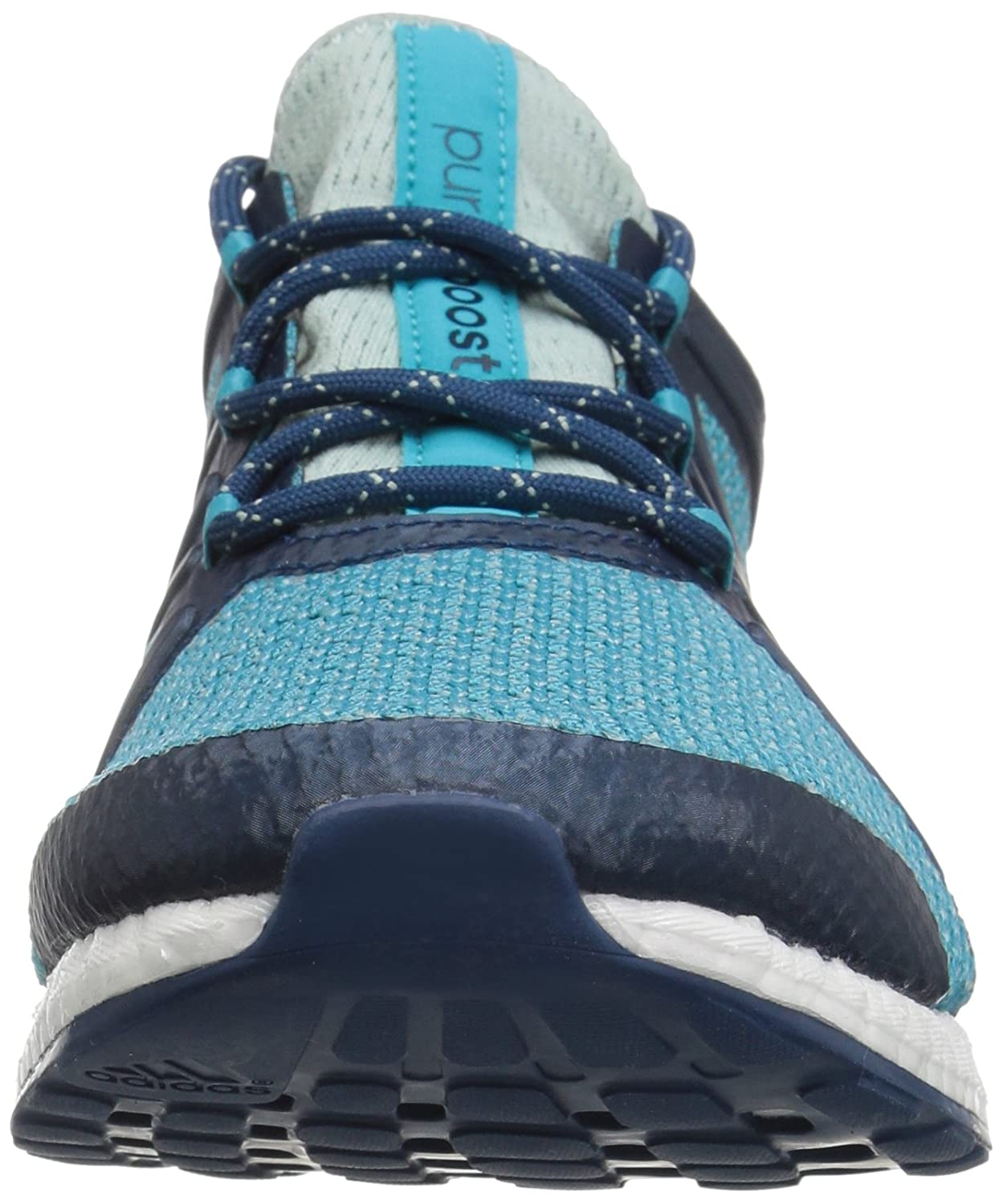 adidas Women's Pureboost Green/Energy Xpose B01NAAJ3KF 9 B(M) US|Tactile Green/Energy Pureboost Blue/Blue Night 6891fb