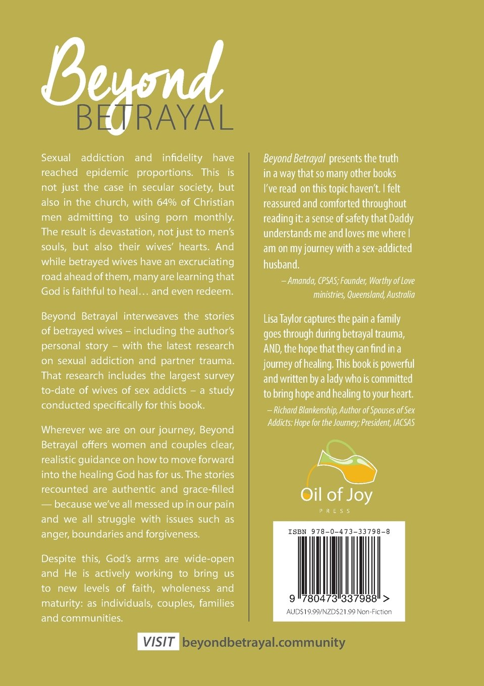 Beyond Betrayal: How God is Healing Women (and Couples) from