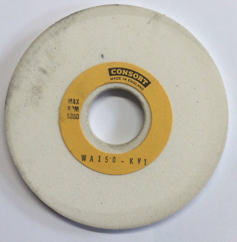 Consort 125 x 6 x 31.75mm Wickman OPG Grinding Wheels WA150KV Grit