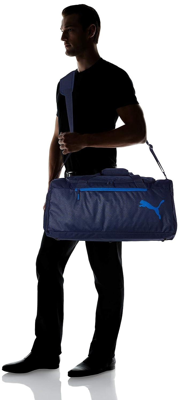 Peacoat Puma Fundamentals Sports Bag M Sac Adulte Unisexe OSFA