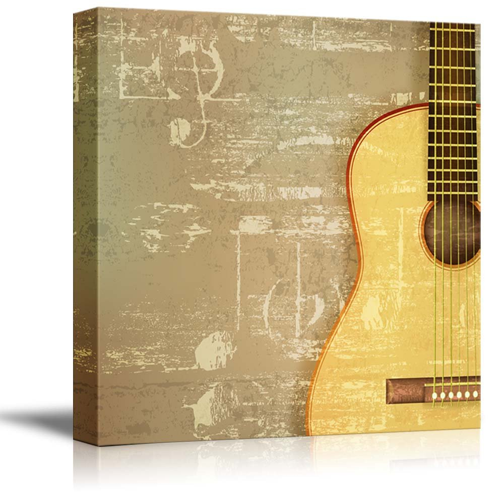 Vintage Style Abstract Green Sound Grunge Background with Acoustic ...