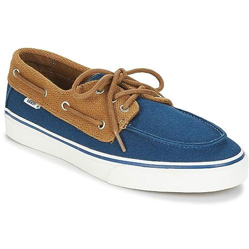 be6e8bee4 Vans - Náuticos para Hombre Azul  Amazon.es  Zapatos y complementos