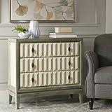 Madison Park Arden 3 drawer chest Sage/Cream See below