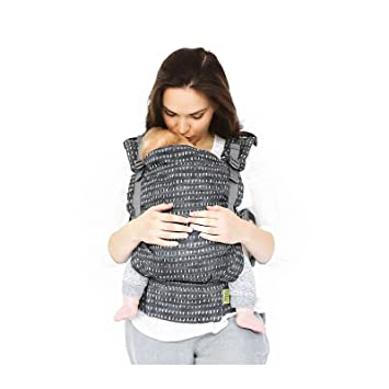 Boba X Adjustable Baby and Toddler Carrier - Front and Back Carrier - Denim  Rain