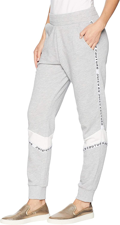 Juicy Couture Women's Juicy Tape Logo Terry Pants