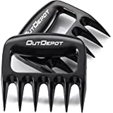 Outdepot BBQ Meat Claws Handler Forks Smoker Accessories, Pulled Pork Shredder Bear Paw Grill Claws, Carving Shredding & Handling Food- Strongest Solid Design ( Set Of 2)