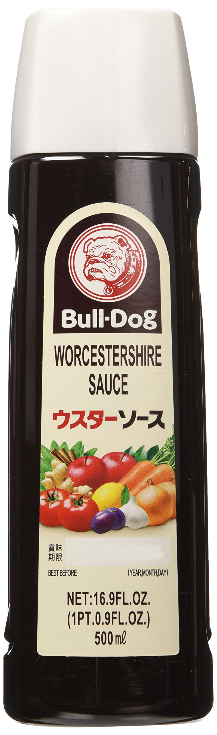Worcestershire Sauce - 16.9oz (Pack of 1) by Bull-Dog