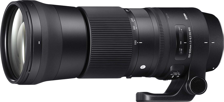 Sigma 150-600mm F5-6.3 DG OS HSM Zoom Lens (Contemporary) for Nikon DSLR Cameras (Renewed)