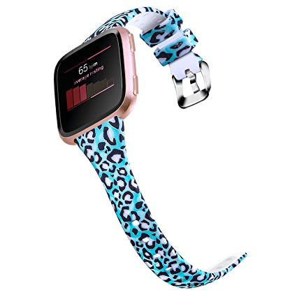Home Cheap Sale Soft Silicone Wear Resistant Replacement Wristband Classic Strap Colorful Sport Watch Band Casual Flexible For Fitbit Versa