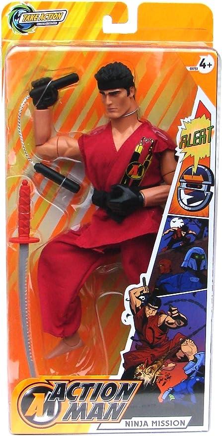 Amazon.com: Acción Man Ninja misión 11.8 inch Super Poseable ...