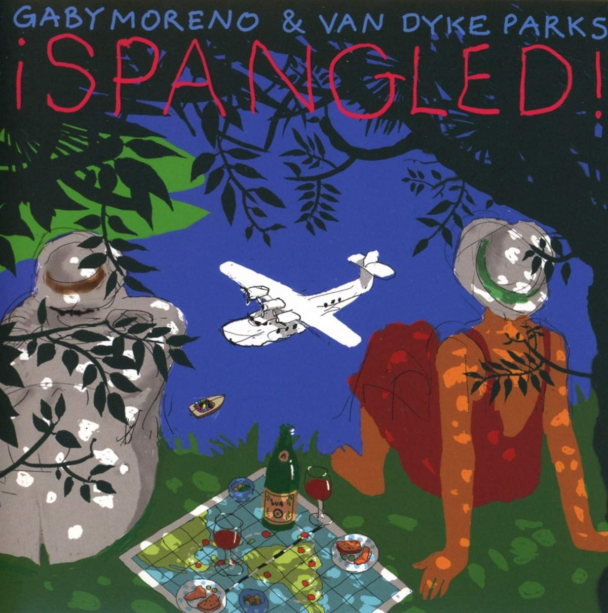 Gaby Moreno & Van Dyke Parks - ¡Spangled ! (CD )