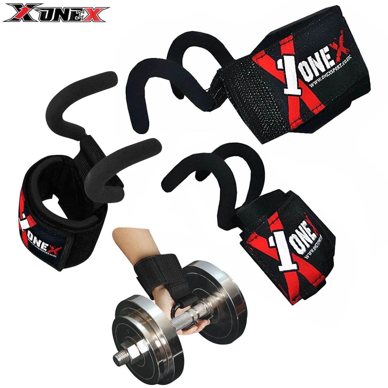 Onex Pro - Correas de gimnasio para levantamiento de pesas, palma ...