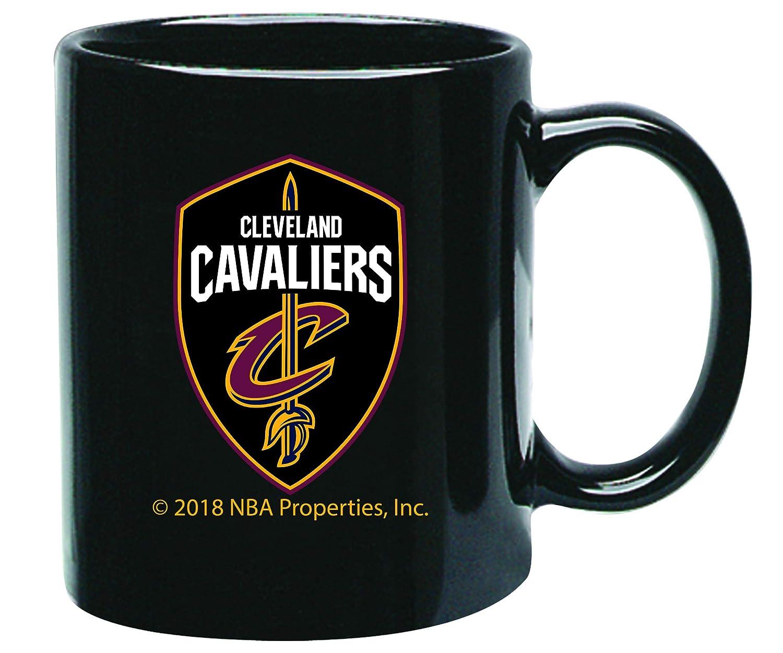 Memory Company Cleveland Cavaliers 15oz Black Ceramic Coffee Mug