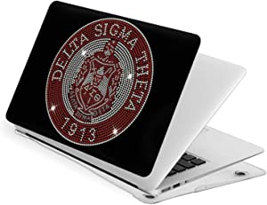 Lingassassin Delta Sigma Theta Apple Series Apple Laptop Case Pack with Face Shell + Bottom Shell + A Keyboard Brush New Air13
