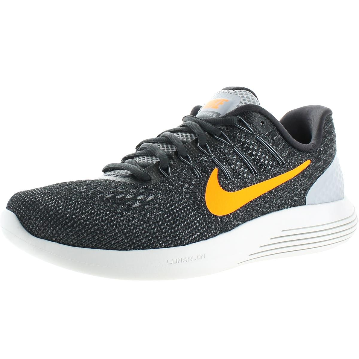 e4243f869f3 Galleon - NIKE Mens Lunarglide 8 Mesh Run Easy Running Shoes Gray 7 Medium  (D)