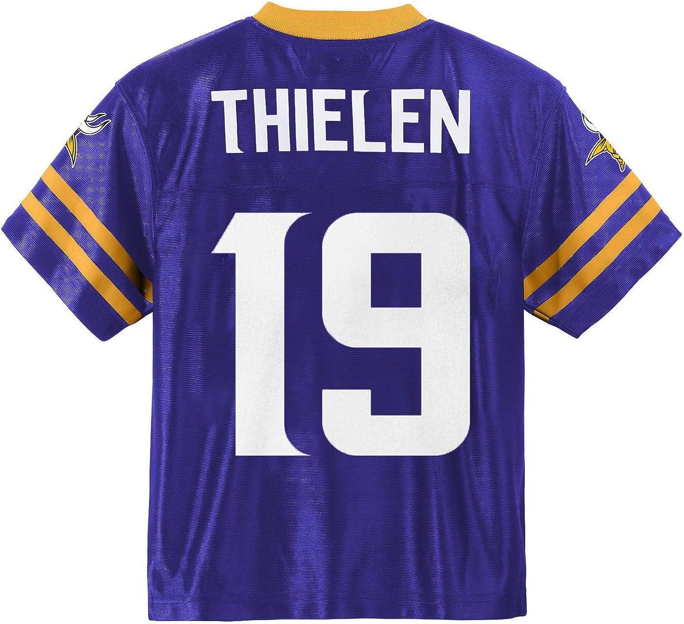 Fashion Mens Vi/_Kings 19 Fan Embroided Sports Jersey Purple