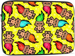 Troll Doll Pattern Protective Laptop Case,Laptop Case Bag for 10 Inch, 12 Inch, 13 Inch, 15 Inch, 17 Inch