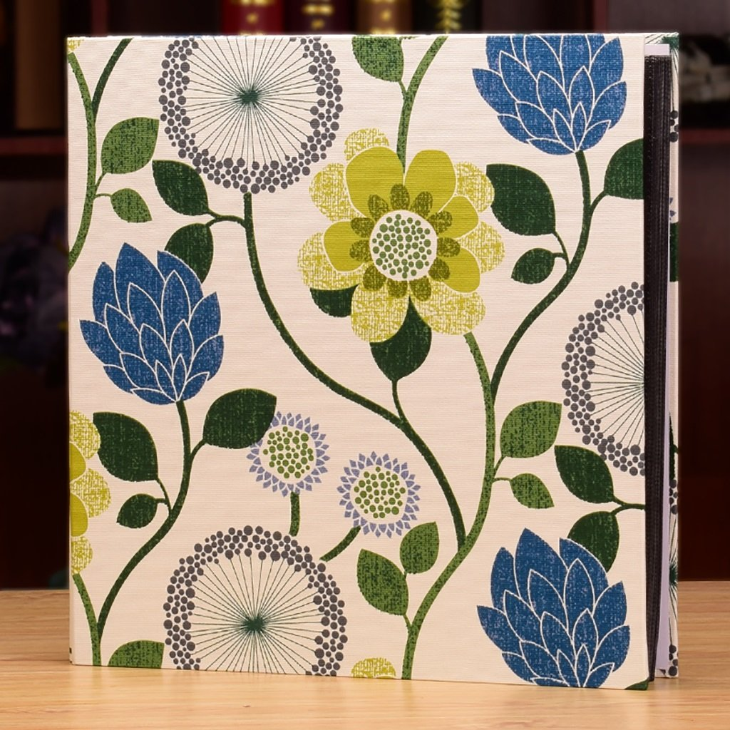 LANNA SHOP- Creative Photo Album, Wedding Anniversary Memo Album, For 850 Photos ( Color : Blue ) by Photo Album Company