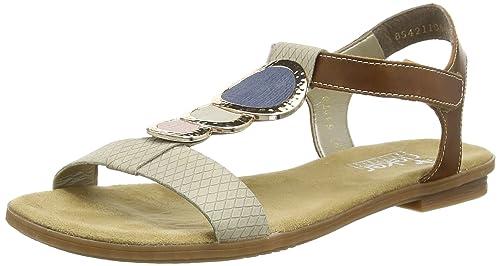Rieker Damen Offene Offene Offene Sandale 64278  Rieker  Amazon   Schuhe ... 9e9849