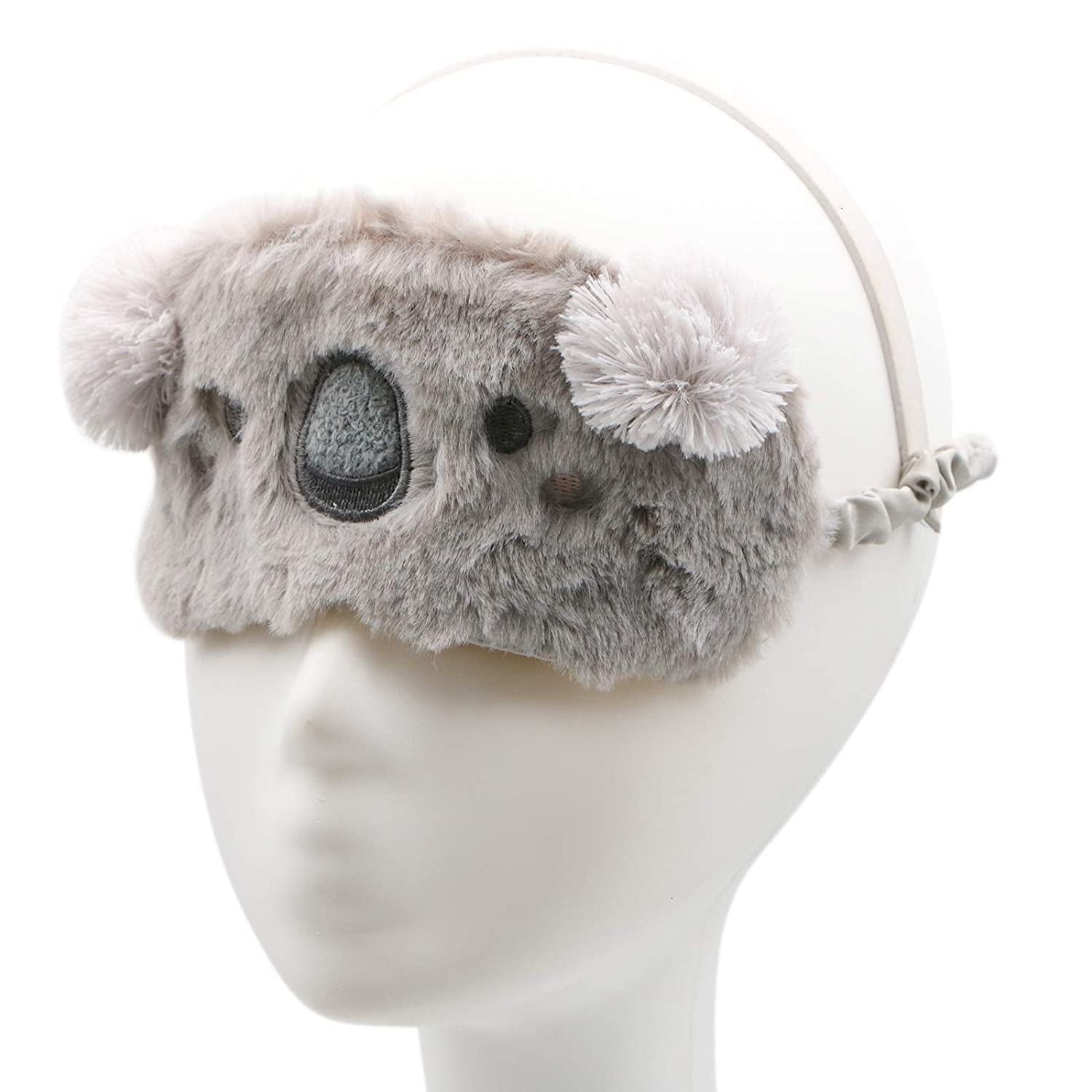 Amazon.com: WSSROGY Cute Koala Soft Plush Sleep Mask ...