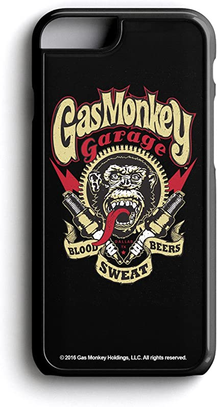 Gas Monkey Garage Spark Plugs Blood iphone case
