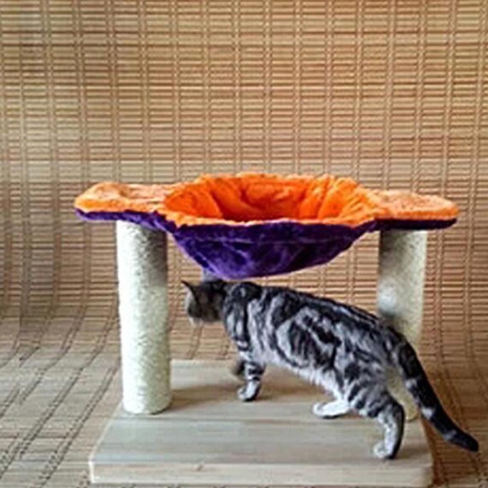 Myyxt Cat Scratch Toys Furniture Condo Pine Sisal Plush Material Wear Scratch-resistant , C