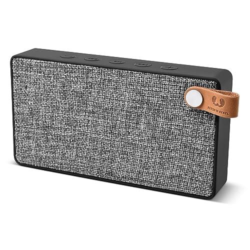 Fresh 'n Rebel Rockbox Slice Fabriq Edition Concrete - Enceinte Portable Bluetooth avec Autonomie de 10 Heures