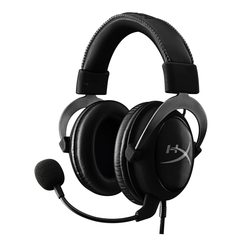 HyperX Cloud II – Gaming Headset, 7.1 Surround Sound, Memory Foam Ear Pads, Durable Aluminum Frame, Detachable…