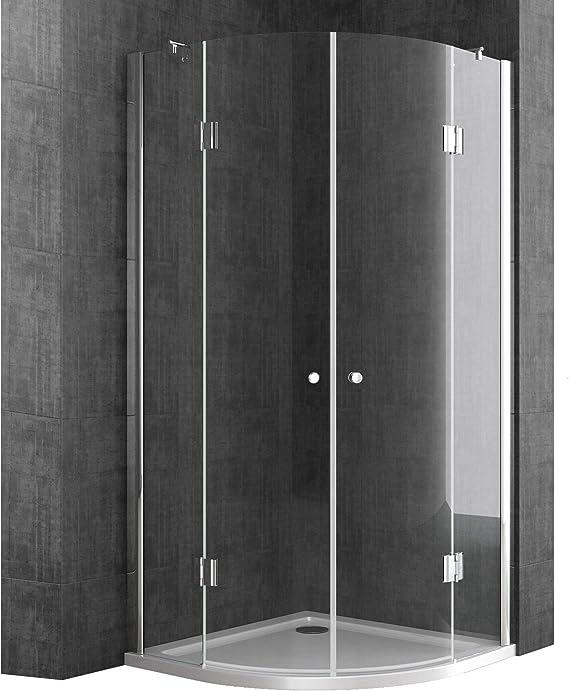 doporro cabina de ducha diseño Rav02K 80x80x190cm vidrio transparente de seguridad  revestimiento de fácil limpieza: Amazon.es: Bricolaje y herramientas