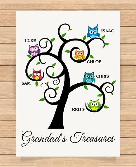 Personalizada Regalos para abuela (Grandad abuelo cumpleaños ...