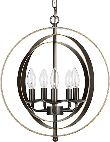 CO-Z 5 Light Orb Chandelier