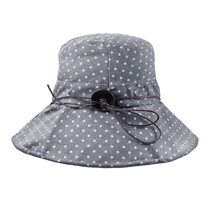 Fakeface Damen Hut Kappe Sonnenhut Aus Baumwolle Sonnenschutz