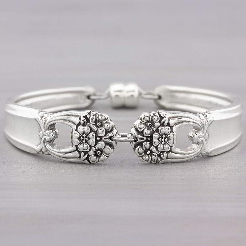 mcf  040 Spoon Ring Eternally Yours Silverware Spoon Ring Vintage Spoon Ring Spoon Jewelry Silverware Jewelry Silverware Ring