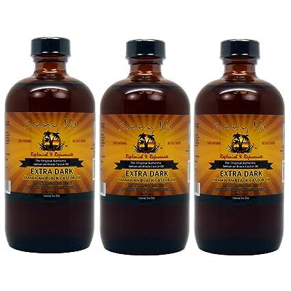 Aceite de ricino negro jamaicano extra Sunny Isle, aprox. 235 mL