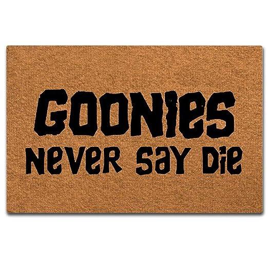 Wise Degree Goonies Neveray - Cartel de Metal con Texto en ...