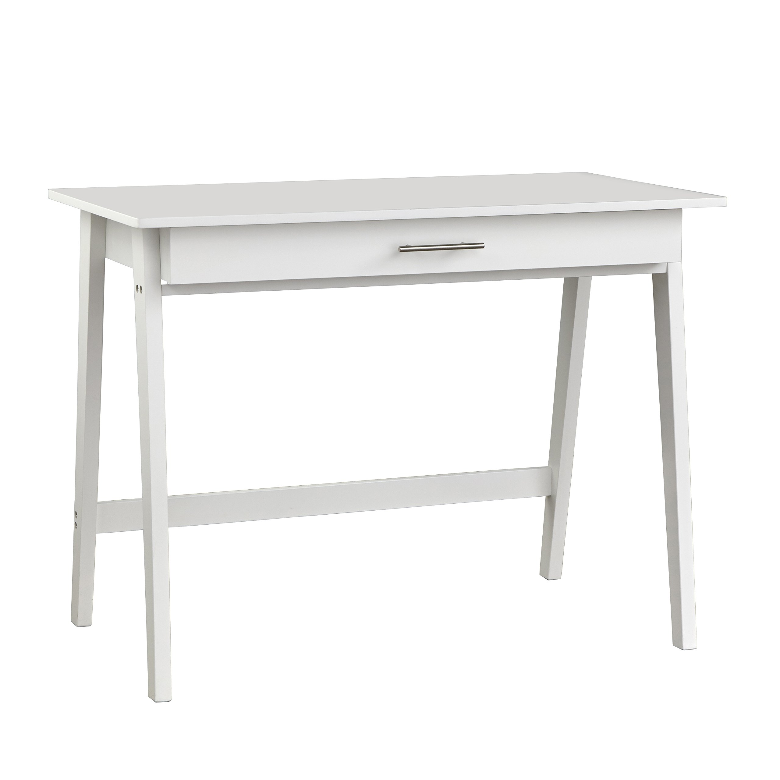 Target Marketing Systems 60707WHT Renata Wooden Home Office Desk, White by Target Marketing Systems
