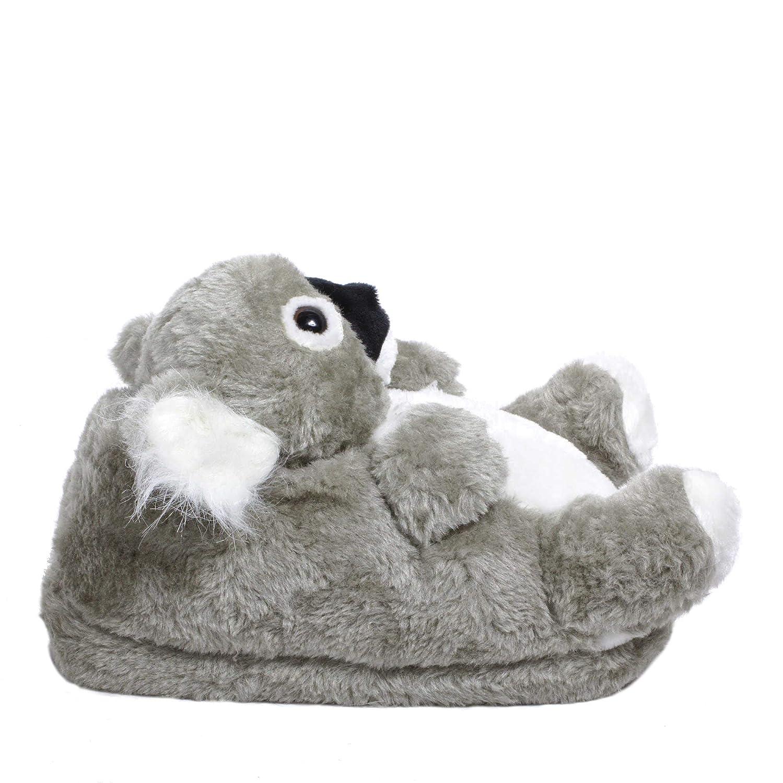 Sleeper z - Koala - Chaussons animaux peluche - Homme Femme Enfant - Cadeau  original  Amazon.fr  Chaussures et Sacs d1efddd7b8d