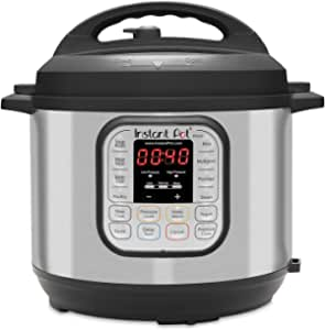Instant Pot IP 80 Duo 8L / 8Q Electric Multi Function Cooker, Stainless Steel, 1200 W, 8 liters [International Version]