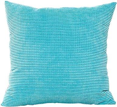 Amazon.com: Unionm - Fundas de almohada decorativas de pana ...