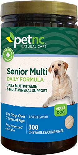 PetNC Natural Care Adult Multi Chewables for Dogs