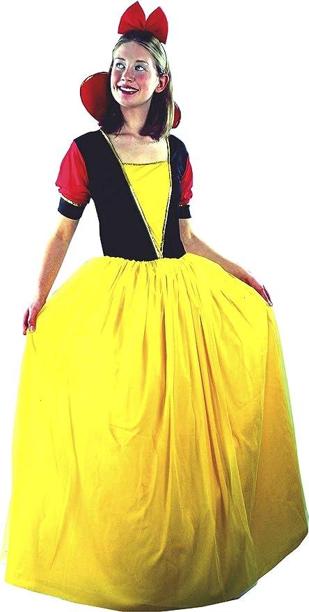 EL CARNAVAL Disfraz Blancanieves Adulto Mujer: Amazon.es: Hogar