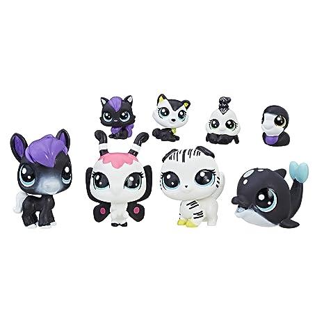 8cfc050c86274 Amazon.com  Littlest Pet Shop Black   White Pet Friends