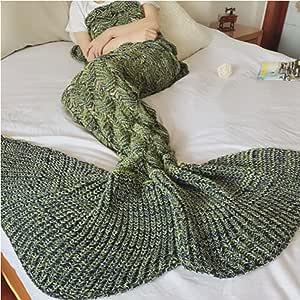 Amazon.com: Bluexury Oversized Fish Tail Mermaid Tail ...