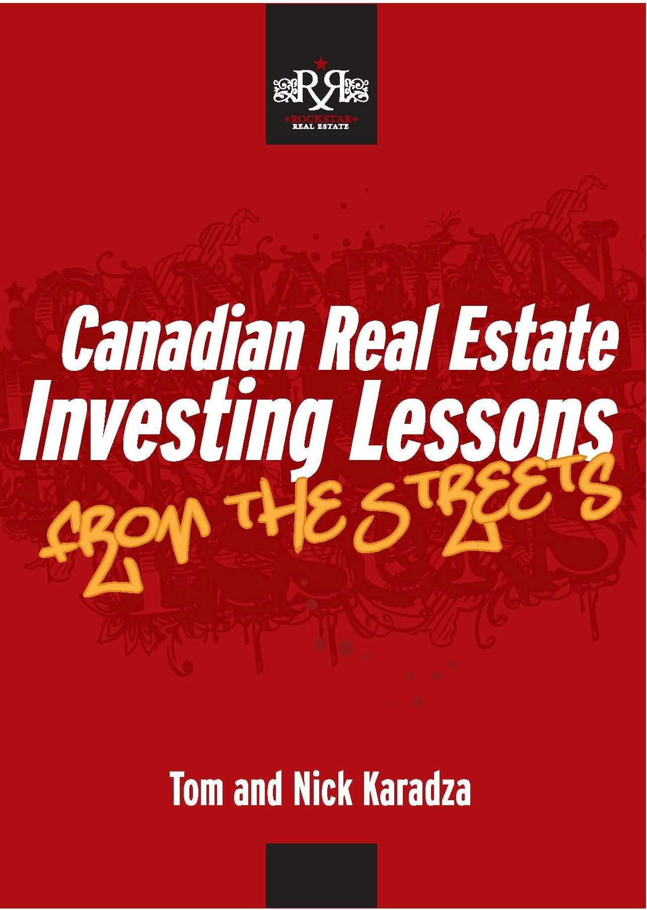 Canadian Real Estate Investing Lessons From The Streets PDF